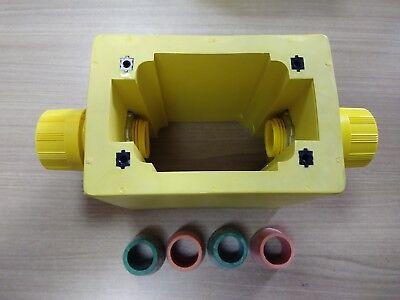 Brad Harrison Woodhead - 3066 - Watertight Rubber Portable Feed Thru Outlet Box