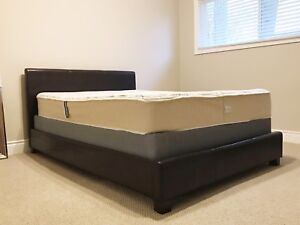 Box spring for double bed