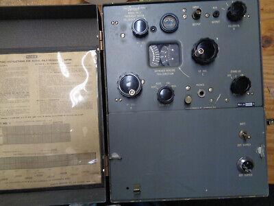 Gertsch Fm-3 Frequency Meter
