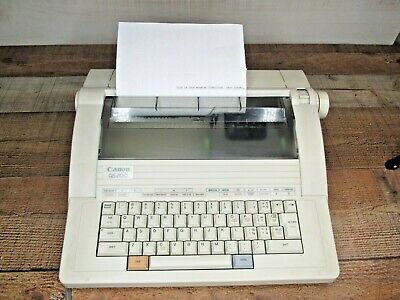 Canon Qs 200 Electric Typewriter Used