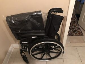 Wheelchair and toilet