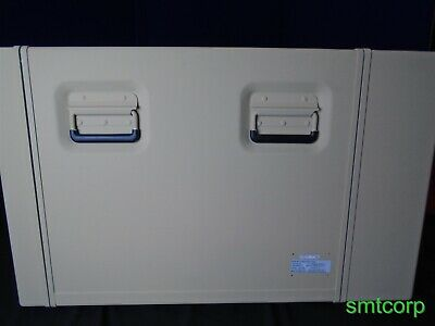 Edak Milex Aluminum Sand Baige Transit Case 9u 19 Rack Shock Mount