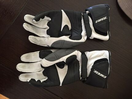 Dainese motorcycle gloves - motorbike -bike -leather