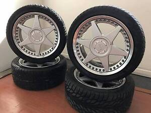 """17"""" MOMO Forged Wheels 5x114.3 West Lakes Charles Sturt Area Preview"""