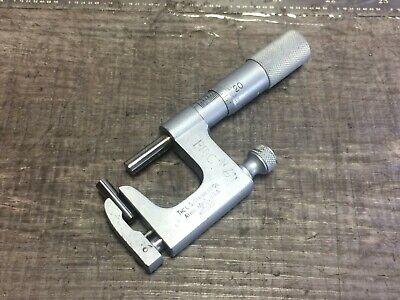Starrett No. 220 Uni Micrometer .001 0 - 1