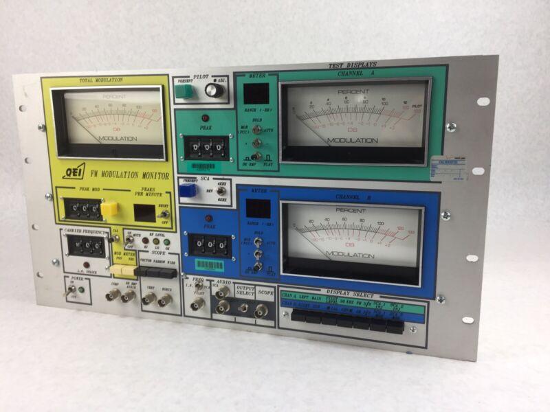 Rare Vintage QEI 691 FM Modulation Monitor Untested