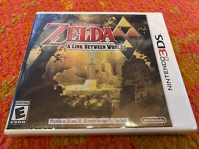 Legend Of Zelda A Link Between Worlds 3DS White Case 1st Print New Sealed, usado comprar usado  Enviando para Brazil
