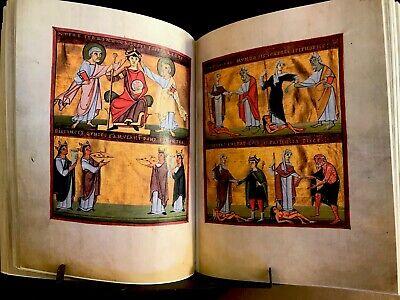 BAMBERG APOCALYPSE, 1010 AD, Facsimile
