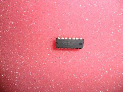 Mc33079p Mc33079 Op Amp Quad 16 Mhz 14 Pin Dip Motorola Lot Of 1