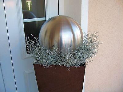 Edelstahl Kugel Schwimmkugel Silberkugel Garten 4-70 cm