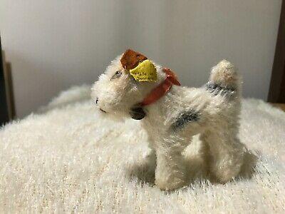 vintage steiff Stuffed animal -- Dog