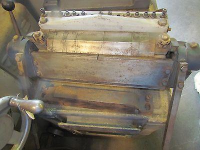 12 Diacro Finger Box Pan Brake  E-0162