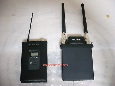 1x Sony Wrr-850 Uhf Diversity Tuner 806-820.000 Mhz Audio For Video