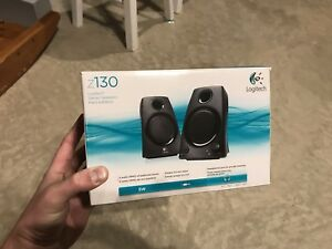 Logitech Computer speakers new