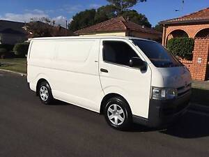 Toyota Hiace LWB 2007 Automatic Dual Fuel, Ex Fleet, Extra Clean! Lidcombe Auburn Area Preview
