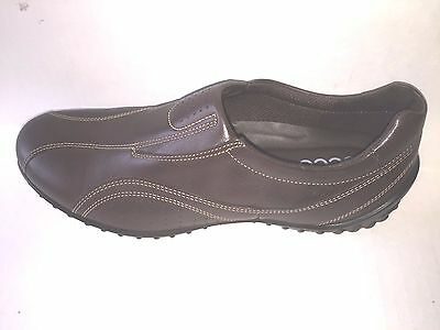 ecco Women's shoes   Charm Slip on Coffee , size 9-9.5, high quality European Ecco Womens Charm