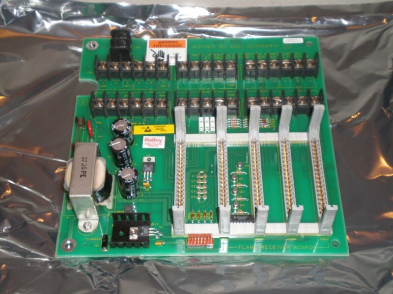 New! Bailey ABB 6634688G1 Circuit Mother Board Assembly PCB Free Shipping!