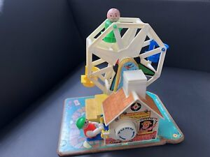 Vintage FISHER PRICE music box Ferris wheel toy 1964!