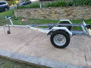 BOAT TRAILER TO SUIT 12 FOOT BOAT ALUMINIUM BOAT,TINNY,REGISTERED Phegans Bay Gosford Area Preview