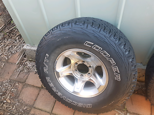 4x4 tyres and rims Jewells Lake Macquarie Area Preview