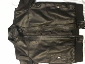 Boys/mens Leather Jacket (Brand New)