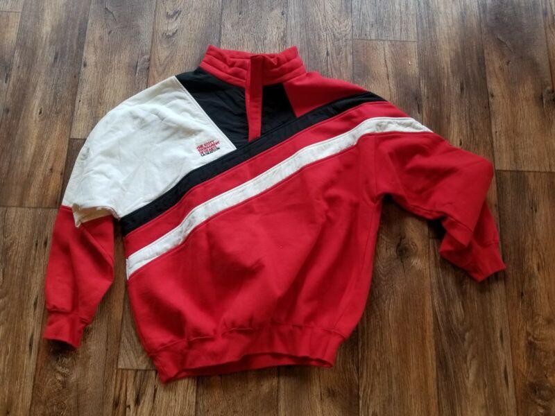 Scott Tournament Of Hearts Vintage Team Jacket Pullover Size L Curling