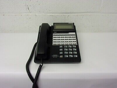 Iwatsu Ix-12ktd-2 12 Button Multi-line Telephone Black