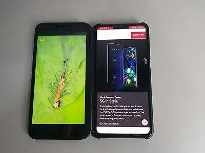 LG V50 ThinQ 5G Astro Black 6GB Ram (Unlocked)*Excellent Condition*+ Dual Screen