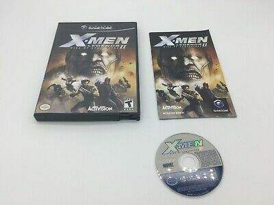 X-Men Legends II: Rise of Apocalypse (Nintendo GameCube, 2005) - Complete