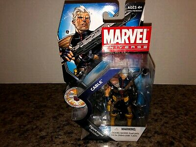 "CABLE 3.75"" MARVEL UNIVERSE SERIES 3 #007 2011 X-MEN DEADPOOL NIB UNOPENED"