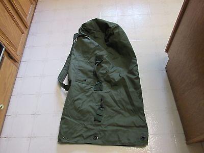 Us Army Mil  Nylon Duffel Camping Survival Bat Bag Mint  Perfect For Duffeling