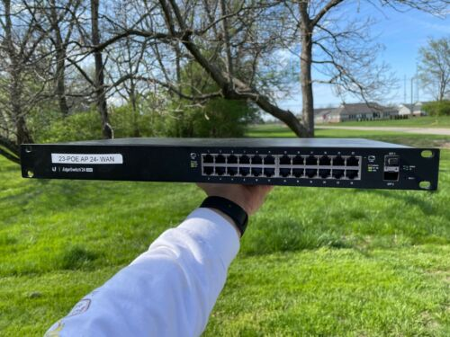 Ubiquiti Networks ES-24-250W 24 Port POE 250W EdgeSwitch