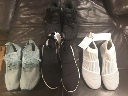 Various Adidas Nmd plus Eqt
