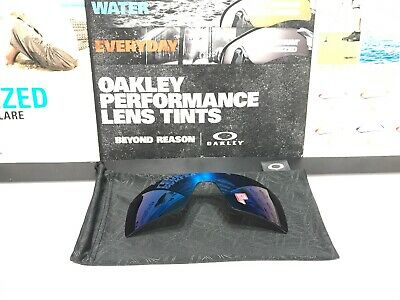 Oakley Oil Rig Ice Iridium Polarized Replacement Lens - Brand New w/ Bag