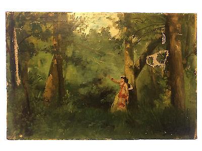 Séverin Duolé 1882 Peinture Française Tableau Ancien Impressionnisme French RARE