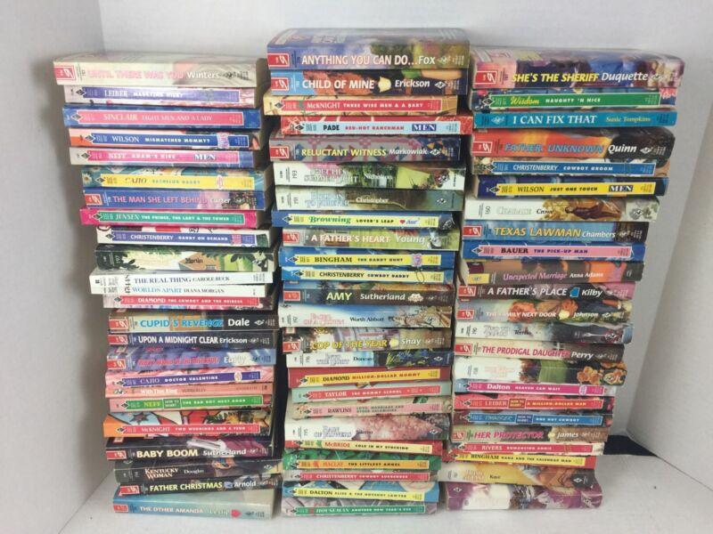71 Vintage Harlequin Romance Novels Books