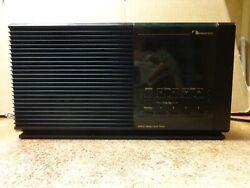 NAKAMICHI TM-1 Black Stereo Clock Radio AM FM alarm VINTAGE
