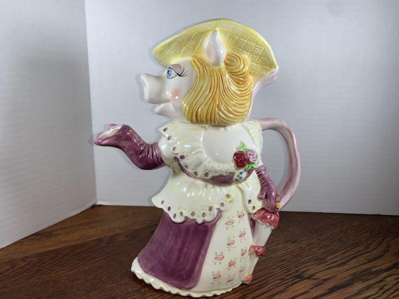 Miss Piggy Teapot