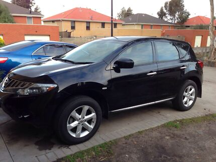 2010 Nissan Murano ST Black with Full Service History Roxburgh Park Hume Area Preview