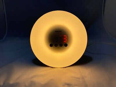 Philips HF3500 Wake-Up Light Therapy Alarm Clock with Sunrise Simulation