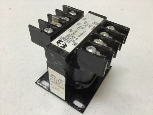 Hammond MT25PG Step Down Transformer 120/240V Input 24V Output 25 Va Used