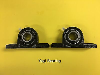 1 Inch Pillow Block Bearing Ucp205-16 2pcs Solid Base - High Quality