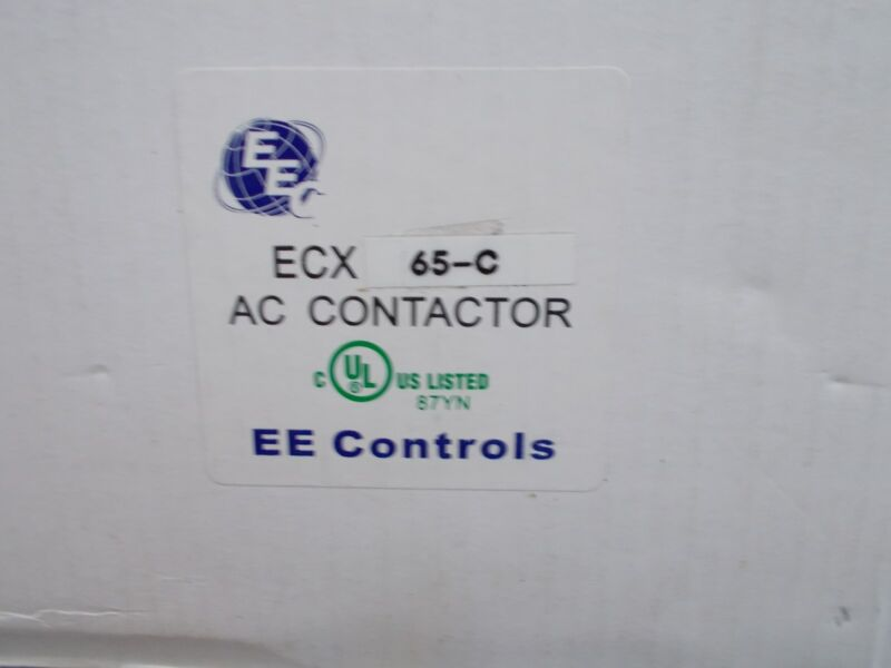 EEC ECX65C   CONTACTOR  208-230V COIL  AEG