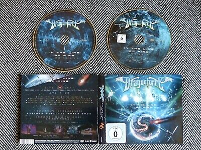 DRAGONFORCE - In the line of fire - larger than live - CD /