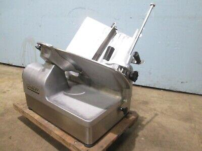 Hobart 1712 Commercial H.d. Nsf 12 Blade 13hp 115v Manual Meat Slicer