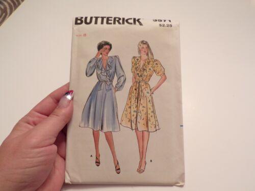 VTG Butterick Pattern Dress Size 8 #3571