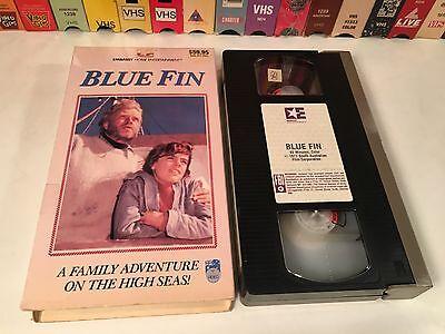 * Blue Fin Australian Adventure VHS 1978 Dolphin Drama Hardy Kruger John Jarratt