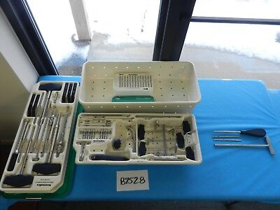 Howmedica Surgical Orthopedic Omega Plus Instrument Set W Case