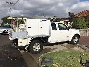 2008 Nissan Navara RX DIESEL 4X4 extended can Pascoe Vale South Moreland Area Preview