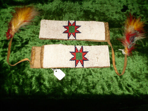 Northern PlainsI Beaded Arm Bands 13 1/2 inches